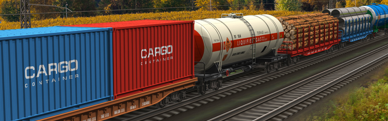 Объем контейнерных ж/д перевозок увеличился на 12 % за полгода