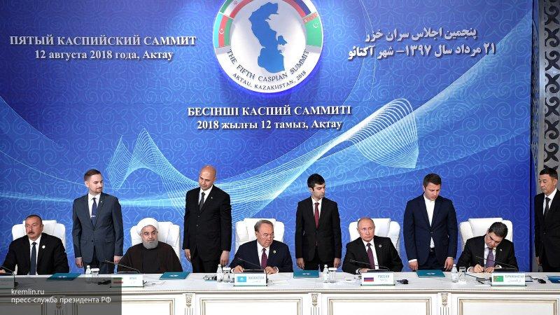 У Каспия новый статус. Спустя 22 года переговоров