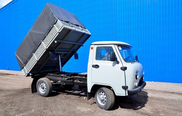 УАЗ-330365 станет самосвалом: первые модели уже доставлены покупателям