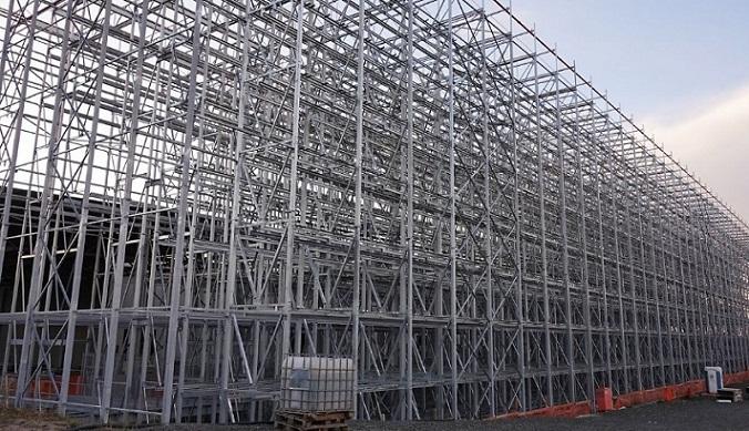 Стальные каркасные конструкции - идеальное решение для склада