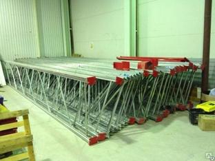 Стеллажи под паллеты для склада: виды и размеры складских стеллажей